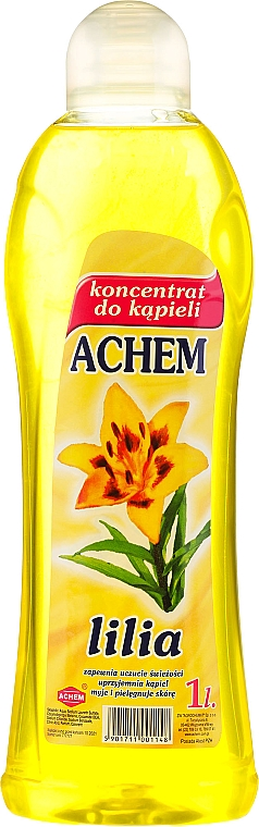 Espuma de baño concentrada con aroma a azucena - Achem Concentrated Bubble Bath Lily