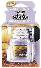 Perfumería y cosmética Ambientador de coche con aroma a limón y lavanda - Yankee Candle Lemon Lavender Jar Ultimate