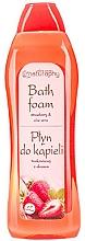 Perfumería y cosmética Espuma de baño con fresa y aloe - Bluxcosmetics Naturaphy Strawberry & Aloe Vera Bath Foam
