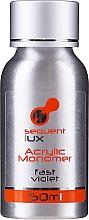 Perfumería y cosmética Monómero acrílico para uñas - Silcare Sequent Lux Acrylic Monomer Fast Violet