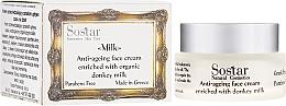 Perfumería y cosmética Crema facial antiedad - Sostar Anti-ageing Face Cream Enriched With Donkey Milk
