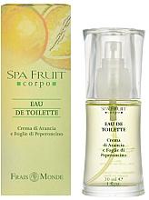 Perfumería y cosmética Frais Monde Spa Fruit Orange And Chilli Leaves - Eau de toilette