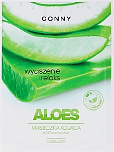 Perfumería y cosmética Mascarilla facial con extracto de pomelo y aloe vera - Conny Aloe Essence Mask