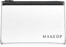 Perfumería y cosmética Neceser cosmético, transparente (26x16cm) - MakeUp Flat Glow