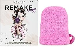 """Perfumería y cosmética Guante desmaquillante, rosa """"ReMake"""" - MakeUp"""