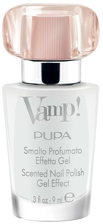 Esmalte de uñas perfumado, efecto gel - Pupa Smalto Profumato Effetto Gel