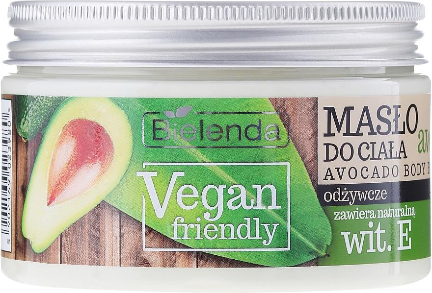 Manteca corporal con aceite de aguacate y vitamina E - Bielenda Vegan Friendly Avocado Body Butter