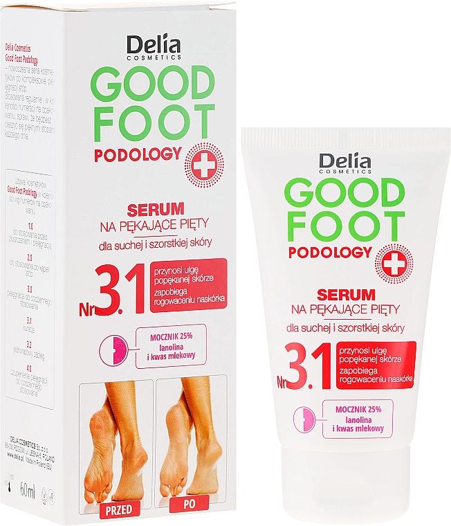 Sérum hidratante y nutritivo para pies con urea y glicerina - Delia Good Foot