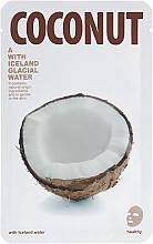 Perfumería y cosmética Mascarilla facial de tejido hidratante con extracto de coco - The Iceland Coconut Mask