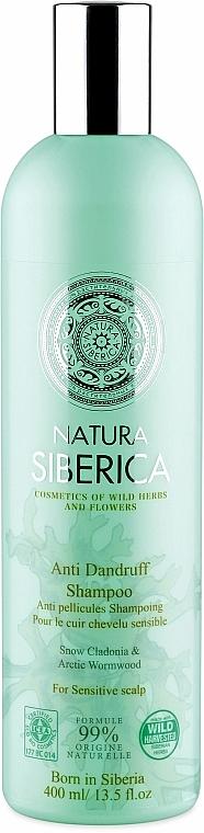 Champú natural siberiano con cladonia y artemisia ártica - Natura Siberica — imagen N1