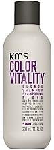 Perfumería y cosmética Champú neutralizador de tonos amarillos con ácido láctico - KMS California Colorvitality Blonde Shampoo