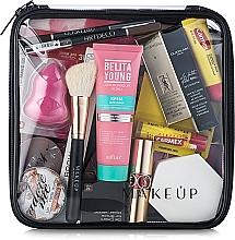 Perfumería y cosmética Neceser cosmético, transparente (20x20x8cm) - MakeUp Visible Bag (sin contenido)