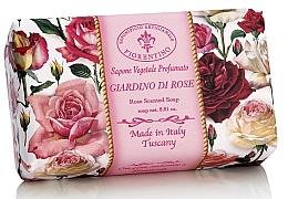 Perfumería y cosmética Jabón vegetal artesano con aroma a rosas - Saponificio Artigianale Fiorentino Rose Garden Scented Soap