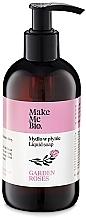 Perfumería y cosmética Jabón de manos líquido con agua y aceite de rosa - Make Me Bio Garden Roses Soap