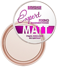 Perfumería y cosmética Polvo fijador de maquillaje transparente, efecto mate - Luxvisage