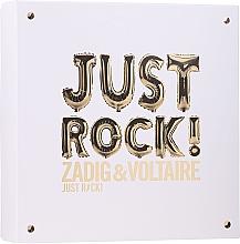 Perfumería y cosmética Zadig & Voltaire Just Rock - Set (eau de parfum/50ml + loción corporal/50ml + gel de ducha/50ml)