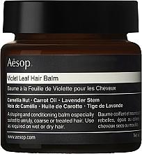 Perfumería y cosmética Bálsamo modelador para cabello con aceite de nueces - Aesop Violet Leaf Hair Balm