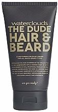 Perfumería y cosmética Bálsamo para barba y cabello con aceite de macadamia y almendra - Waterclouds The Dude Hair And Beard Conditioner