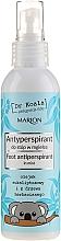 Perfumería y cosmética Spray antitranspirante para pies con eucalipto y aceite de árbol de té - Marion Dr Koala Foot Antiperpirant In Mist
