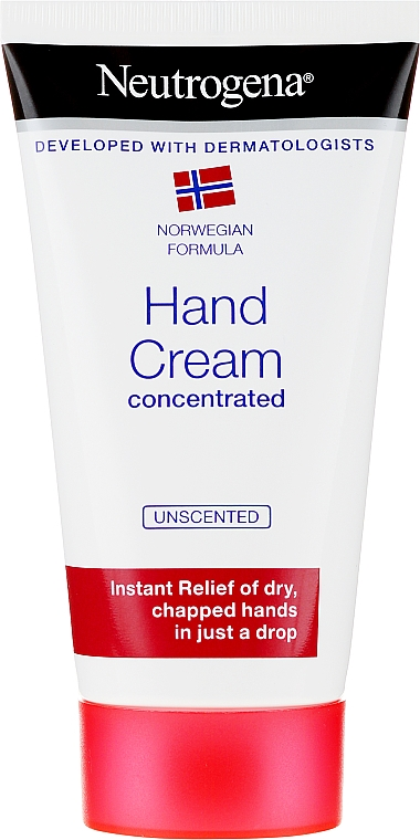 Crema de manos concentrada - Neutrogena Norwegian Formula Concentrated Unscented Hand Cream