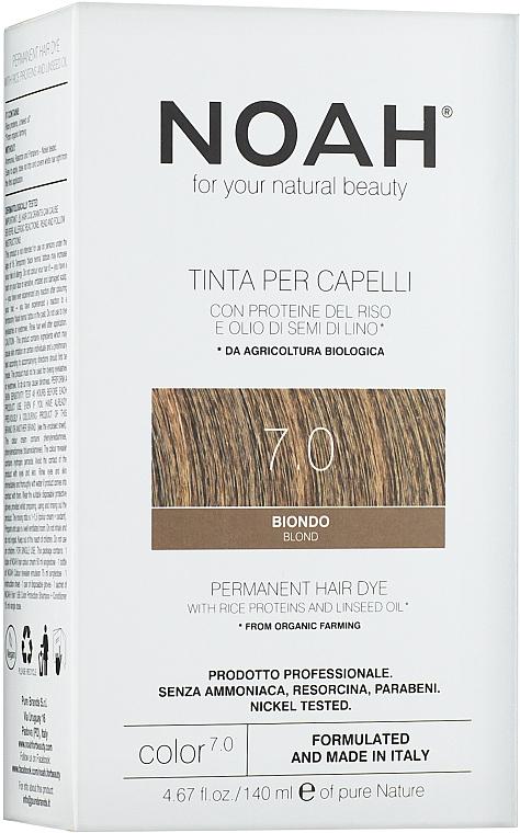 Tinte para cabello con proteínas de arroz y bio aceite de lino + oxidante, sin amoníaco - Noah