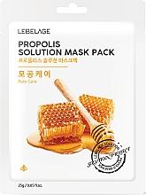 Perfumería y cosmética Mascarilla facial con extracto de propóleo - Lebelage Propolis Solution Mask