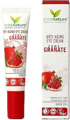 Crema antiedad para contorno de ojos con granada - Cosnature Eye Cream Pomegranate