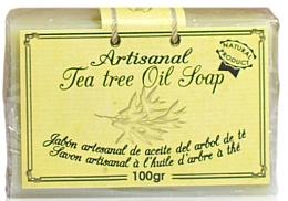 Perfumería y cosmética Jabón artesanal de aceite de árbol de té, 100% natural - Arganour Natural Soap with Tea Tree Oil