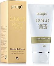 Perfumería y cosmética Crema para cuello con oro de 24 quilates - Petitfee & Koelf Gold Neck Cream