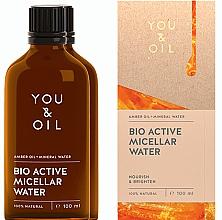 Perfumería y cosmética Agua micelar con aceite de ámbar - You & Oil Amber. Bio Active Micellar Water