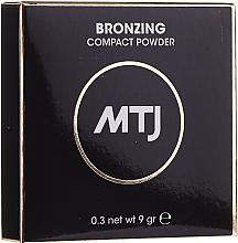 Perfumería y cosmética Polvo bronceador facial compacto - MTJ Cosmetics Bronzing Compact Powder