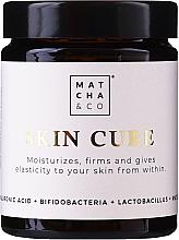 Perfumería y cosmética Complemento alimenticio en cápsulas para mejorar la hidratación, elasticidad y firmeza de la piel desde el interior - Matcha & Co Skin Cure