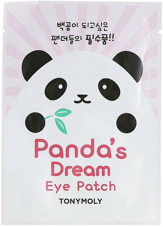 Mascarilla de tejido para contorno de ojos con aloe y extracto de anís - Tony Moly Pandas Dream Eye Patch