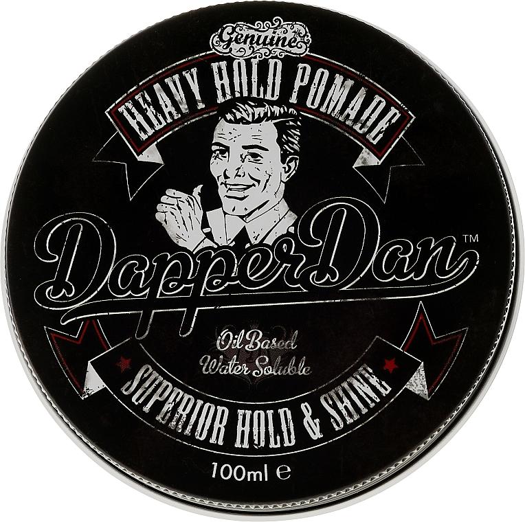 Pomada moldeadora de cabello con aceite de ricino - Dapper Dan Heavy Hold Pomade