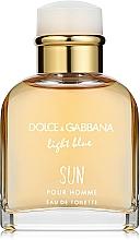 Perfumería y cosmética Dolce & Gabbana Light Blue Sun Pour Homme - Eau de toilette