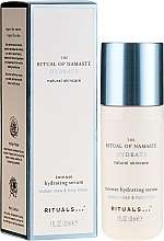 Perfumería y cosmética Sérum facial con rosa india & loto sagrado - Rituals The Ritual Of Namaste Intense Hydrating Serum