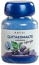 Perfumería y cosmética Quitaesmalte con esponja, aroma a mora - Katai Nails Express Nail Polish Remover Blackberry