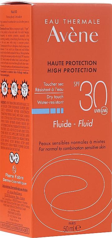 Fluido protector solar - Avene Sun Care Fluid SPF 30