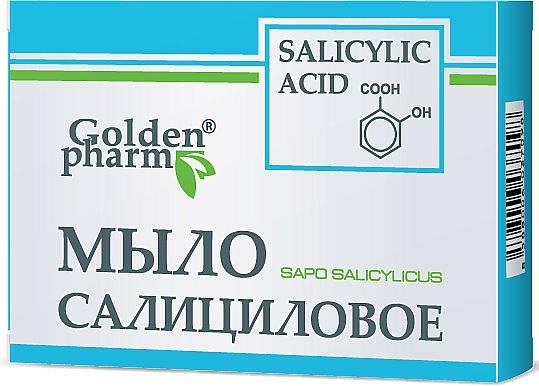 Jabón con ácido salicílico - Golden Pharm
