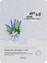 Perfumería y cosmética Mascarilla facial de tejido con complejo de hierbas - Esfolio Pure Skin Essence Herb Mask Sheet
