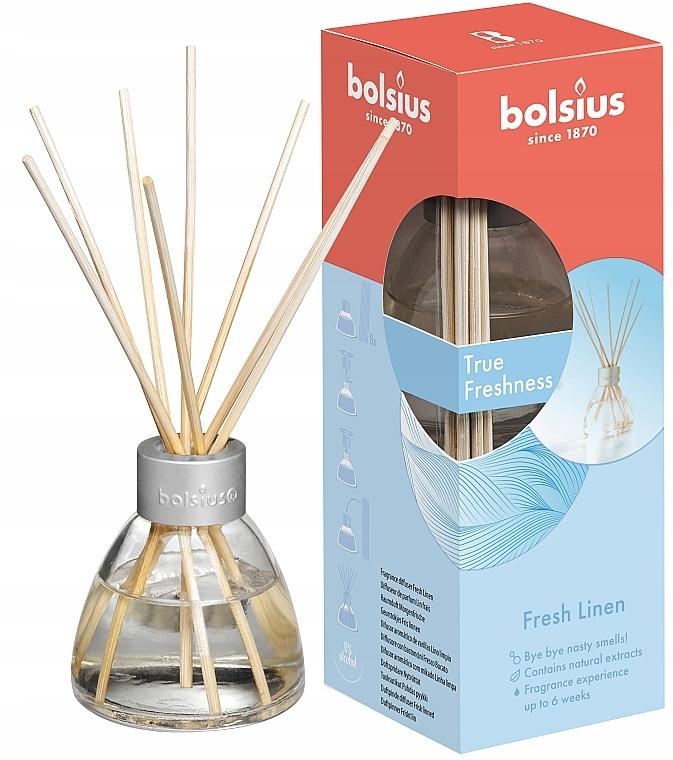 Difusor de aroma, lino fresco - Bolsius Fragrance Diffuser True Freshness