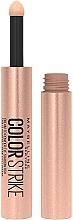 Perfumería y cosmética Sombras de ojos cremosas - Maybelline New Yok Color Strike Eye Shadow Pen