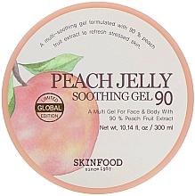 Perfumería y cosmética Gel corporal calmante con extracto de melocotón - Skinfood Peach Jelly Soothing Gel