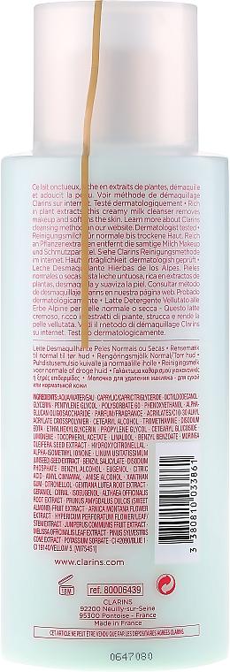Leche desmaquillante con extracto de almendras dulces - Clarins Anti-Pollution Cleansing Milk — imagen N2