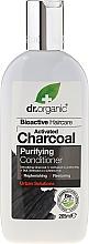 Perfumería y cosmética Acondicionador purificante con carbón activo - Dr. Organic Bioactive Haircare Activated Charcoal Conditioner