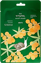 Perfumería y cosmética Mascarilla facial con el filtrado de baba de caracol - Skin79 The Vitaful Snail Mask