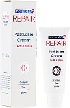 Perfumería y cosmética Crema láser para rostro y cuerpo con cobre, zinc y plata - Novaclear Repair Post Laser Cream