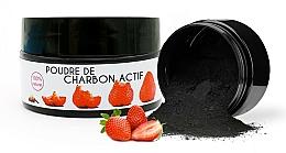 Perfumería y cosmética Polvo blanqueador dental de carbón activado con sabor a fresa - Keeth Strawberry-flavoured Activated Charcoal Bleaching Powder