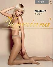 Perfumería y cosmética Pantis Diamant, 8 Den, gris - Veneziana