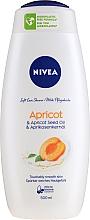 Perfumería y cosmética Gel de ducha con aceite de semilla de albaricoque - Nivea Bath Care Shower Care&Apricot Seed Oil